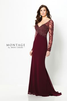 Modern Mother of the Bride dresses from the Montage collection by Mon Cheri feature modern sophistication in jacket sets or classic sleeveless options. Types Of Sleeves, Dresses With Sleeves, Mon Cheri Bridal, Mother Of The Bride Dresses Long, Prom Dresses, Formal Dresses, Groom Dress, Formal Wear, I Dress