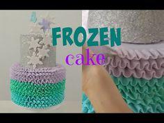 Disney's Frozen Cake Tutorial - CAKE STYLE