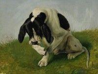 Скачать обои животные, Johan Von Holst, собаки, пойнтер 1600x1200