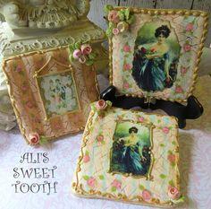 Ali's Sweet Tooth Vintage Print Cookies