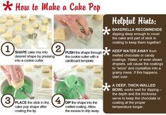 how to make cakepop
