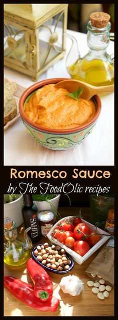 romesco salsa, sauce