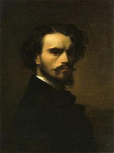 Self-Portrait, 1852 Alexandre Cabanel