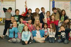 Miss Teen International 2011, Jurnee Carr spoke at an elementary school's Career Day!