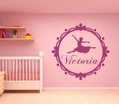 Personalised Wall Sticker Word Name Sign Decal Mural WallArt Gift Idea Kids Room