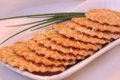 Parmesan-Chive Pizzelles