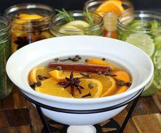 Natuurlijke luchtverfrisser, met fruit en specerijen