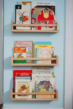 DIY étagères à épice livre enfant