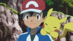 Ash and Pikachu ❤