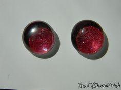 Nail Polish Jewelry: Stud Earrings. $8.00, via Etsy. love it! must try! www.eCrafty.com for glass tiles, bezels, bails, jewelry supplies