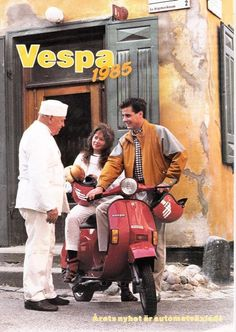 Vespa 1985 - Swedish catalog [tradera auction]