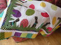 My Easter quilt- a fun blog about quilting and a little bit of everything else