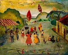 Anita Malfatti (1889-1964) Festa de São João com Guirlanda, s.d. http://arteseanp.blogspot.com