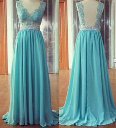Long Prom Dresses,Prom Dress,Blue Prom Dresses,Formal Evening Dress,Long Homecoming Dress,Simple Evening Gowns
