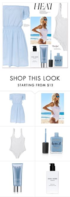 """""""Heat"""" by mycherryblossom ❤ liked on Polyvore featuring Lauren B. Beauty, Orlane and Bobbi Brown Cosmetics"""