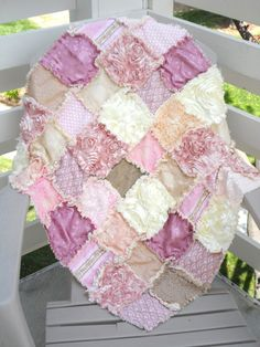 Custom Order Modern Rag Quilt Vintage by modernragquilts on Etsy