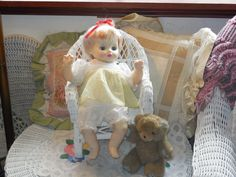 Ideal 1882 Thumbelina Baby Doll with by Daysgonebytreasures, $29.99