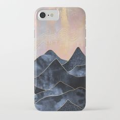 Mountainscape iPhone & iPod Case