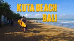 Kuta Beach Bali is most popular beach in Bali that you must visit if come to this island.