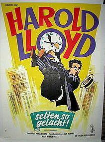 Safety Last - Original Harold Lloyd Vintage Poster