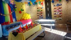 Jump2It:  CAR & TRUCK themed party