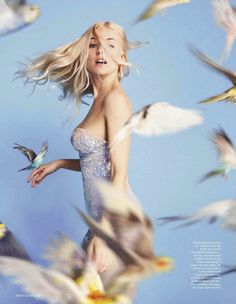 Sienna Miller | Ryan McGinley #photography | Vogue UK April 2012