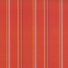 Patio Tangerine 73% polyester/ 27% acrylic 140cm Vertical Stripe Indoor/Outdoor Outdoor Fabric, Indoor Outdoor, Stuart Graham, Fabrics, Patio, Collection, Tejidos, Cloths, Inside Outside