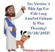 The kids bible app is almost here!!! Check out my newest blog post for all the dets!!!!