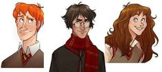 These Makani Harry Potter Illustrations Let You Imagine an Animated Movie Series trendhunter.com