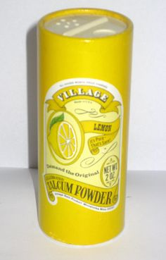 Village Powder, I remember the sachets of powdered bubble bath they used to sell also.....the peach was devine.... :o)