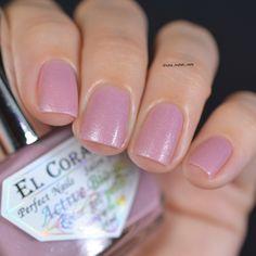 #elcorazon Luminous 423/1146 natural beauty, нежный розовый лак с бирюзовым шиммером и очень интересной текстурой. К тому же он светиться в…