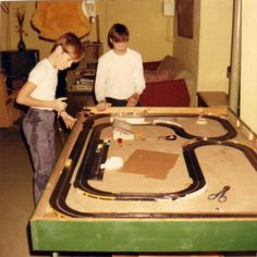 Slot car racing was just the beginning!