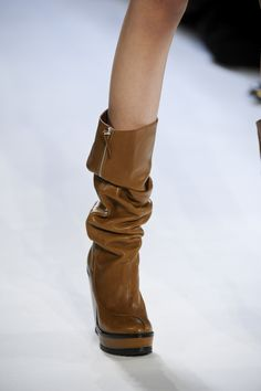 Scrunched boots: Lacoste Fall-Winter 2012-13