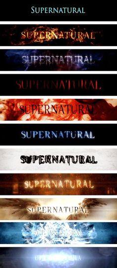 [gifset] Title Cards #Supernatural: