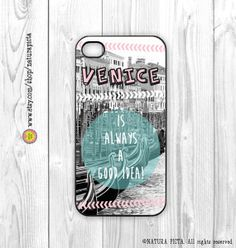 Venice is always a good idea quote iPhone case by naturapicta, $19.99 © NATURA PICTA