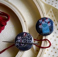 Love Design, Peppermint, Washer Necklace, Goodies, Merry, Jar, Needle Case, Needlework, Jewelry