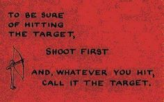 That's your target
