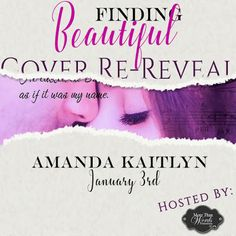 "Cover Re-Reveal - Finding Beautiful (Trinity #1) by Amanda Kaitlyn  Giveaway   Title: Finding Beautiful Series: Trinity #1 Author: Amanda Kaitlyn Genre: Adult Contemporary Romance Coming: January 9 2017  Alora Kate of Sweet Lush Photography & Design  ""A debut romance that will keep you at the edge of your seat until the very last pageMeet Gavin Thomas. He is a ladies man. The CEO of a multimillion dollar company. He thought he had it all. Until Aria.ARIA I am damaged. Broken. I have given up…"