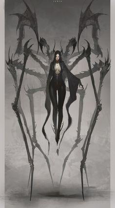 The grim Ben Juniu fantasy illustrations Fantasy Characters, Horror Art, Character Art, Fantasy Artwork, Fantasy Art, Creature Art, Art, Monster Art, Dark Fantasy Art