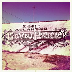via blog: www.citywelove.com:  Grant Park got some spanking new wall art near the intersection of Glenwood and Waldo on the outside of the Capsule Gallery.
