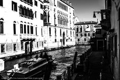 Lights and shadows in Venice.