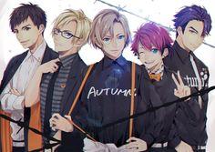 Hot Anime Boy, Girls Anime, Cute Anime Guys, Anime Group Of Friends, Friend Anime, Pretty Boys, Cute Boys, Anime Suggestions, Genesis Evangelion