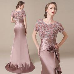 Mother Of Bride Outfits, Mothers Dresses, Bride Dresses, Elegant Dresses, Pretty Dresses, Beautiful Dresses, Formal Dresses, Party Wear Frocks Designs, Couture Dresses
