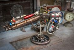 Space gun by ferrerini mechanical art