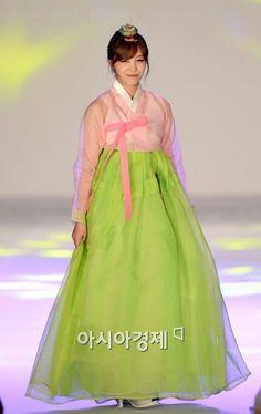 Apink EunJi in hanbok #hanbok #Apink