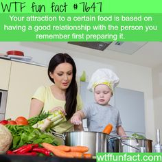 Why we like certain food - WTF fun facts