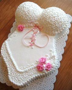 Bridal shower/Bachelorette Party cake