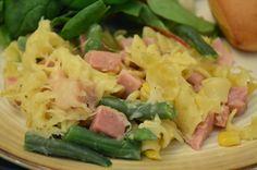 Easy Healthy Kitchen: Ham and Swiss Casserole