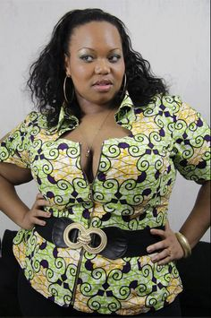 african attire top