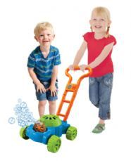Double-Bubble Mower for kids